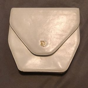 Authentic white Dior wallet